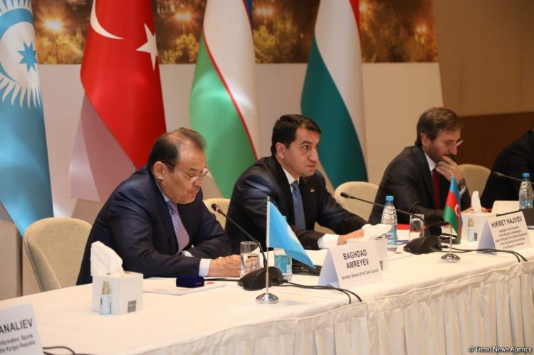 Bakıda Türk Şurasının informasiya və media üzrə məsul rəsmilərinin toplantısı keçirilir