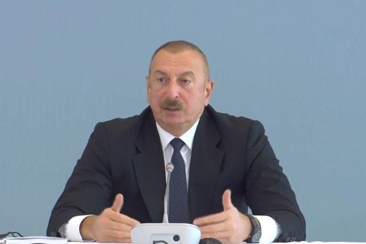"""Azərbaycan Prezidenti:  """"Zəngəzur dəhlizi Türkiyənin razılığı və iştirakı olmadan açıla bilməz"""""""