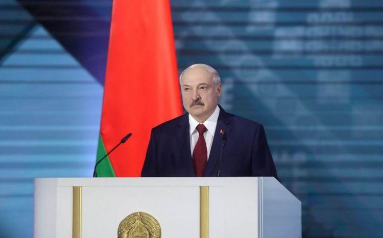 Aleksandr Lukaşenko Azərbaycana səfərə gəlib