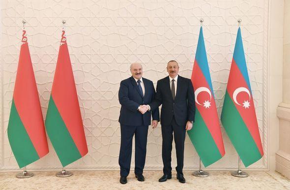 Azərbaycan və Belarus prezidentlərinin təkbətək görüşü olub -  YENİLƏNİB - FOTO