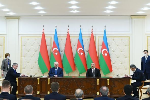 Azərbaycan-Belarus sənədləri imzalanıb -  FOTO
