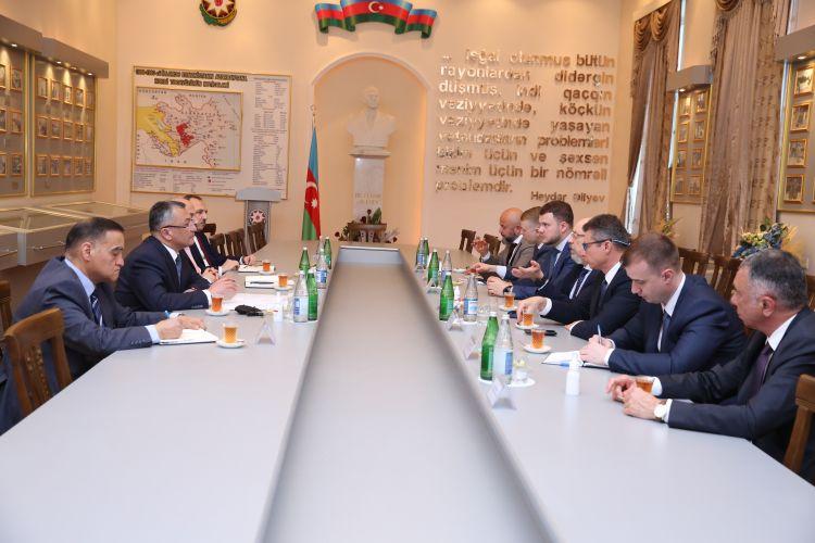Dövlət Komitəsində Ukraynanın Baş nazirinin müavini ilə görüş keçirilib