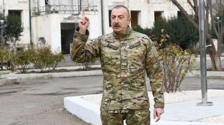 Prezident Qubadlıdakı məscidi sökənlərin cəzalandırılmasını tapşırdı -  RƏSMİ