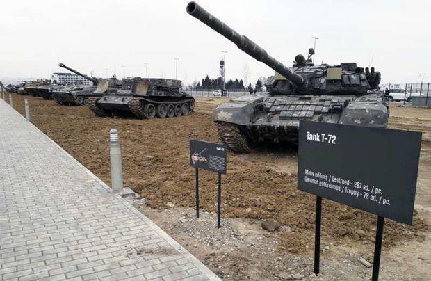 """""""Hərbi Qənimətlər Parkını pullu etmək doğru deyil"""" -  Qazilər birliyinin sədri"""