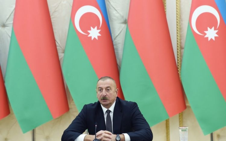 """Azərbaycan Prezidenti:  """"Zəngəzur dəhlizi reallığa çevrilir"""""""