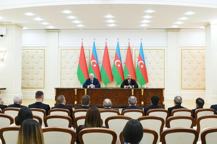"""""""Belarus bizim dostumuz, sınaqdan çıxmış tərəfdaşımızdır"""" -  İlham Əliyev"""