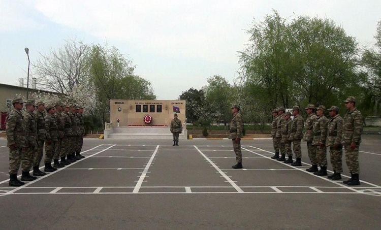 MN: Orduda gənc əsgərlərin hazırlığına xüsusi diqqət yetirilir -  VİDEO