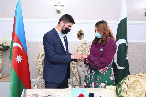 Azərbaycanlı gənc pakistanlı qızla evləndi -  FOTO