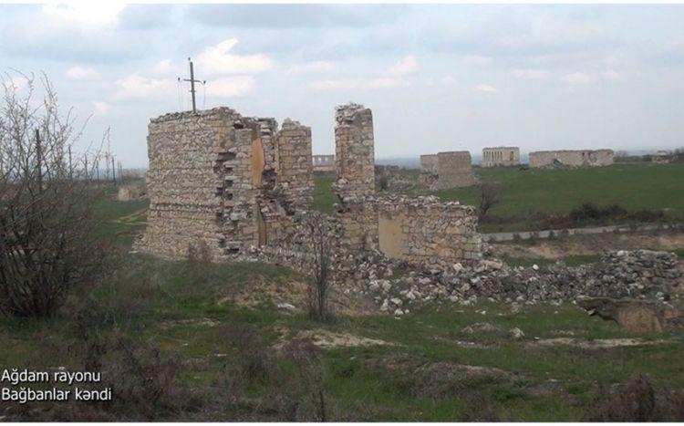 Ağdamın Bağbanlar kəndindən görüntülər -  VİDEO