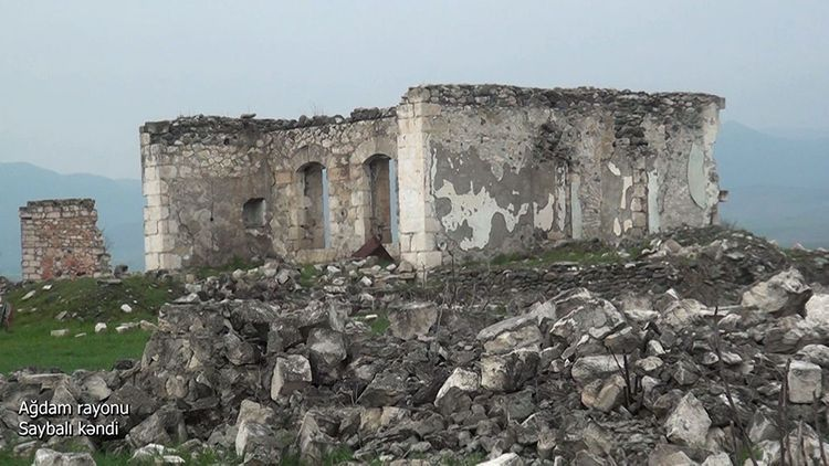 Ağdam rayonunun Saybalı kəndi - VİDEO