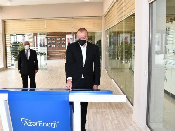 İlham Əliyev yarımstansiyaların açılışında -  YENİLƏNİB - FOTO