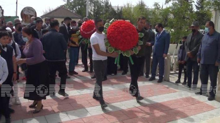 Salyanda Vətən müharibəsi şəhidinin adına bulaq istifadəyə verilib -  FOTO
