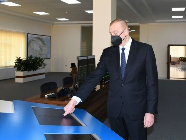 Prezident Hacıqabulda aqroparkın açılışında iştirak etdi