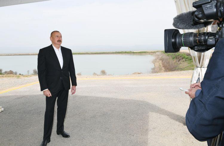 Prezident Azərbaycan Televiziyasına müsahibə verib -  TAM MƏTN