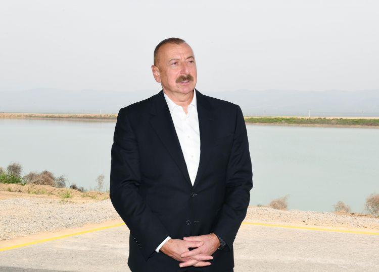 """İlham Əliyev:  """"Bizim planlarımız Ermənistanı..."""""""