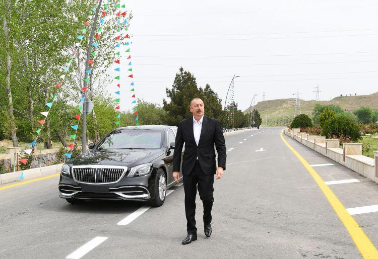 Hacıqabul-Muğan avtomobil yolu yenidənqurmadan sonra istifadəyə verilib -  Yenilənib