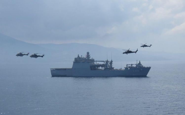 Türkiyə silahlanmaya yeni döyüş gəmisi daxil edib