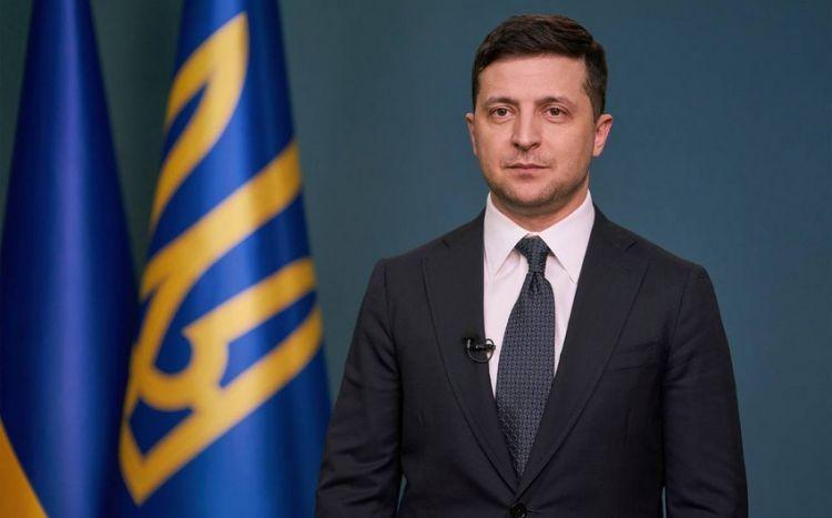 Zelinksi ermənilərə qarşı sanksiya tətbiq etdi - FƏRMAN
