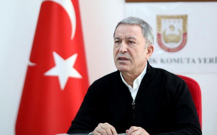 """Hulusi Akar Ermənistan rəhbərliyinə müraciət etdi: """"Göndərdiyimiz mesajı dinləsələr..."""""""