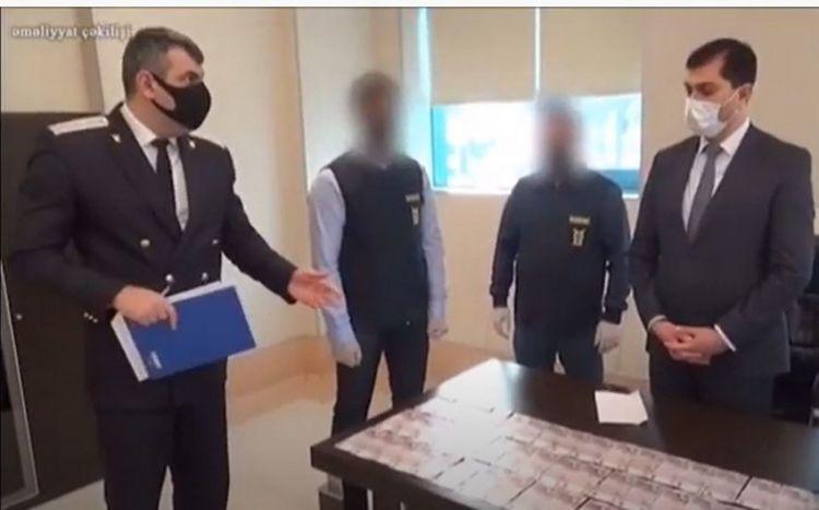 """""""Yeni klinika""""nın direktoru və baş həkimin tutulma anı -  ƏMƏLİYYAT VİDEOSU"""