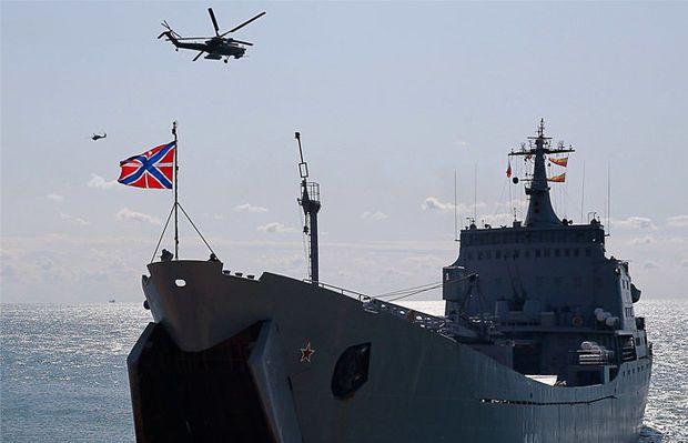 Rusiya Qara dənizdə genişmiqyaslı təlimlərə başlayıb