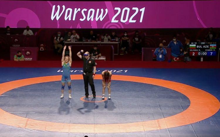Mariya Stadnik 8-ci dəfə Avropa çempionu oldu -  VİDEO
