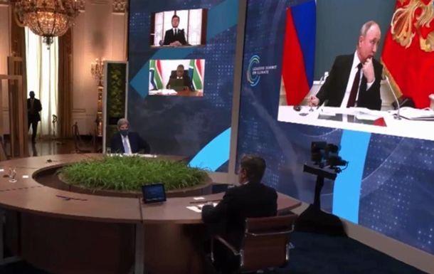 Beynəlxalq İqlim Sammitində Putin Makronun sözünü kəsdi –  VİDEO
