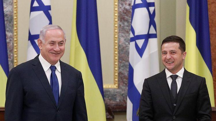 Ukrayna Netanyahudan kömək istədi