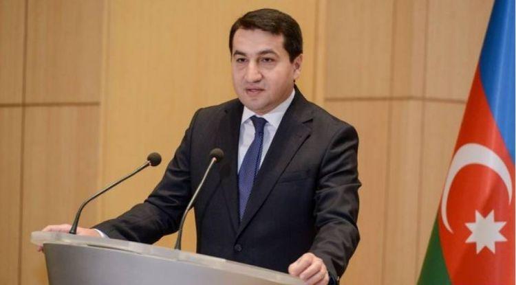 """Hikmət Hacıyev:  """"ABŞ hökumətinin tarixi səhvidir"""""""