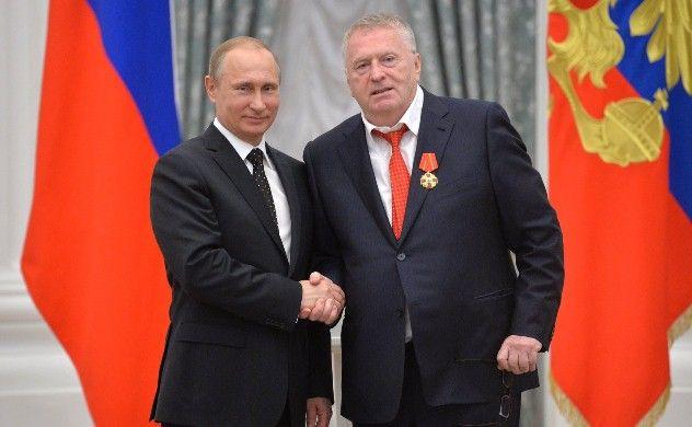 Putin Jirinovskini ordenlə təltif etdi