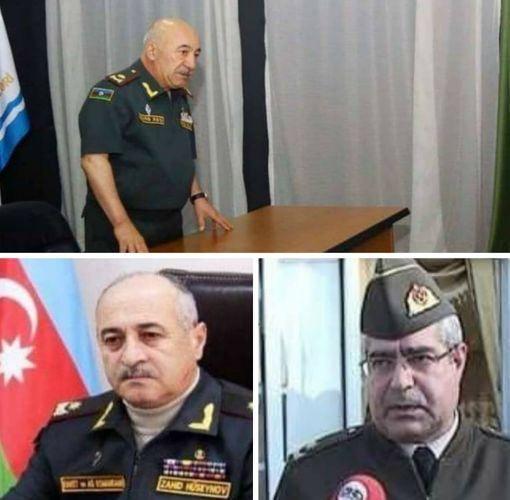 Azərbaycan Ordusunda üç generalı vəzifəsindən azad olundu