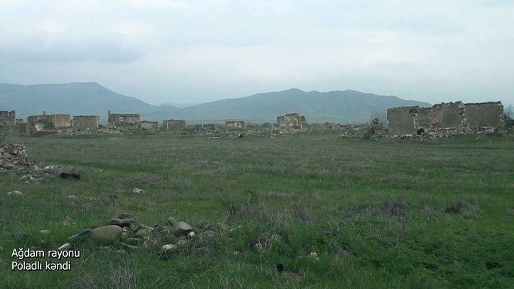 Ağdam rayonunun Poladlı kəndi -  VİDEO