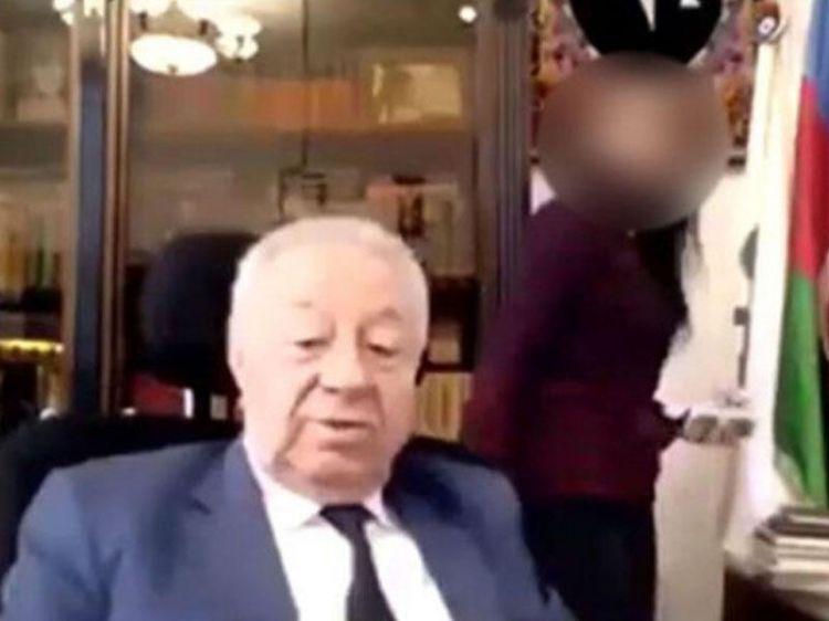 Hüseynbala Mirələmovla görüntüləri yayılan qadın da YAP-dan çıxarıldı