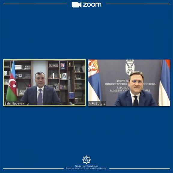 Azərbaycanla Serbiya arasında gələcək əməkdaşlıq prioritetləri müzakirə olunub