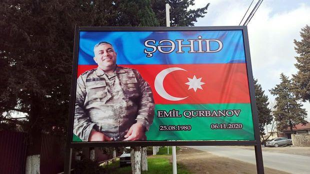 """Şəhid zabitin həyat yoldaşı: """"Medallarına baxanda siması gözlərimdə canlanır"""" -  FOTO"""