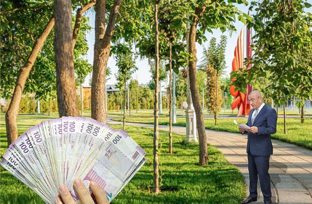 Alimpaşa Məmmədov parkın ərazisini 1,3 milyona satıb