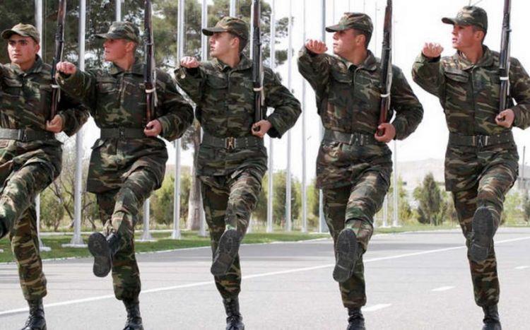 Xidmətini başa vuran hərbi qulluqçular tərxis edildilər -  FOTO