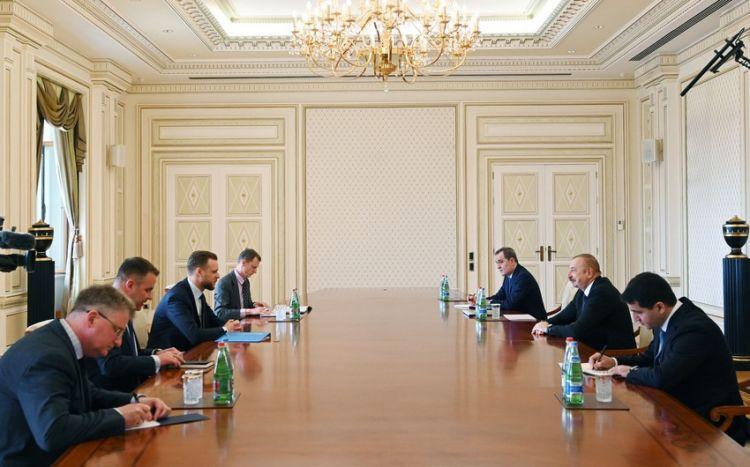 Prezident Litvanın xarici işlər nazirini qəbul edib -  Yenilənib