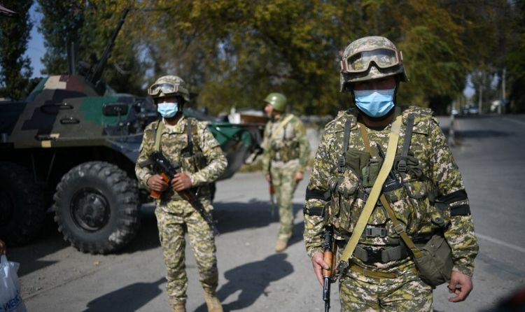 Qırğızıstan-Tacikistan sərhədində atışma başlayıb