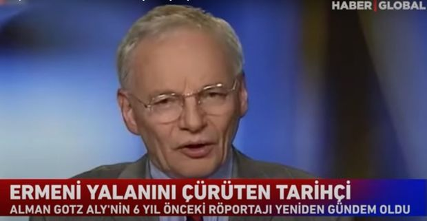 Alman tarixçi erməni yalanını ifşa etdi –  VİDEO