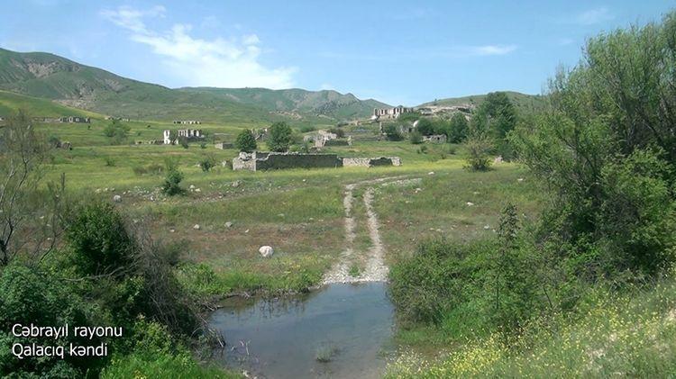 Cəbrayıl rayonunun Qalacıq kəndi -  VİDEO