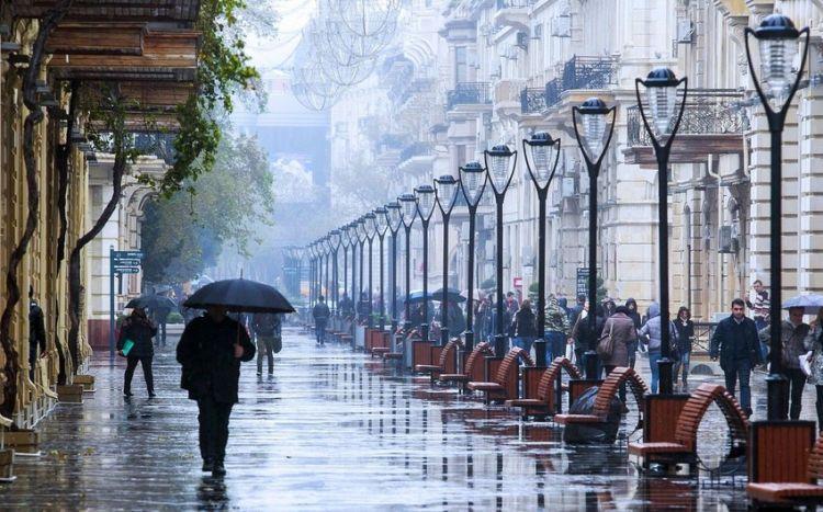 Sabah hava yağmurlu, küləkli olacaq -  HAVA PROQNOZU