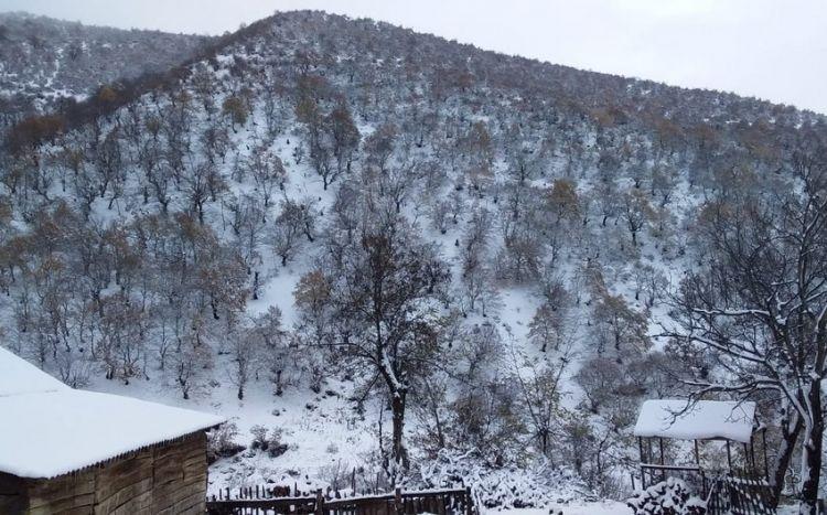 May ayında Azərbaycana qar yağdı -  Faktiki hava