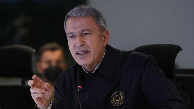 """Türkiyənin müdafiə naziri:  """"Ermənilərə qarşı soyqırım olmayıb"""" - VİDEO"""