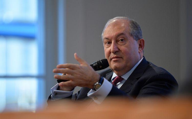 Ermənistan prezidenti barədə cinayət işi açılıb