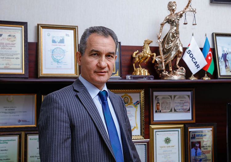 Asif Bəkirli BMT-nin medalı ilə təltif olunub - FOTO