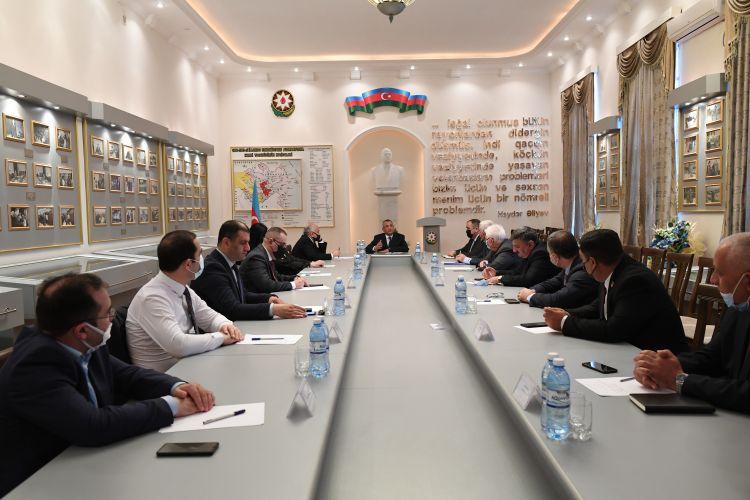 Dövlət Komitəsində İctimai Şuranın yeni seçilmiş üzvləri ilə görüş olub