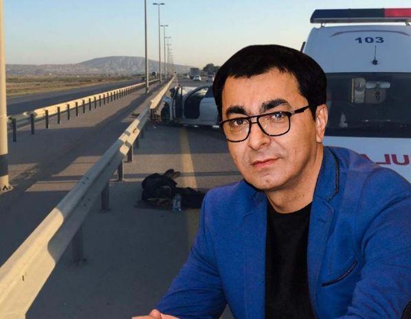 Aslan Hüseynovun öldüyü dəhşətli qəzadan görüntülər -  FOTO