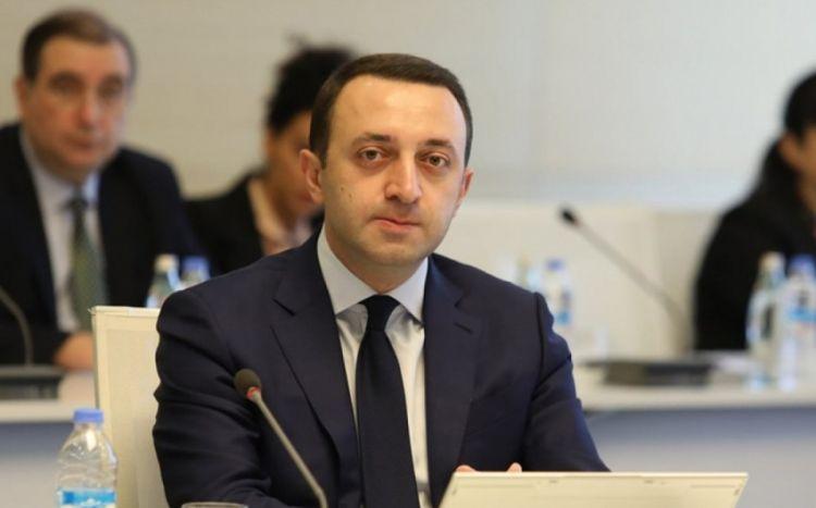 """""""Gürcüstan Azərbaycanın dostu olmaqda davam edəcək"""" -  İrakli Qaribaşvili"""