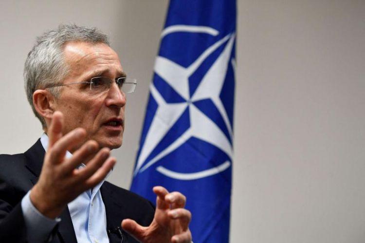 """NATO baş katibi: """"Ukrayna ilə sərhəddə Rusiyanın on minlərlə hərbçisi var"""""""